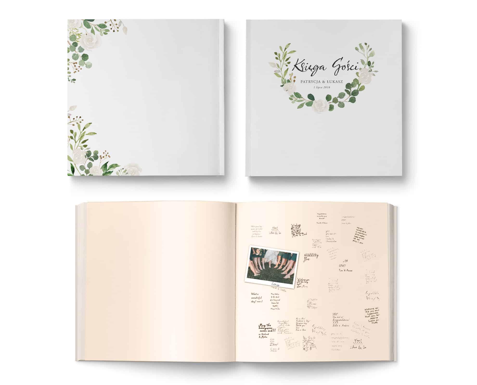 Księga gości Wreath