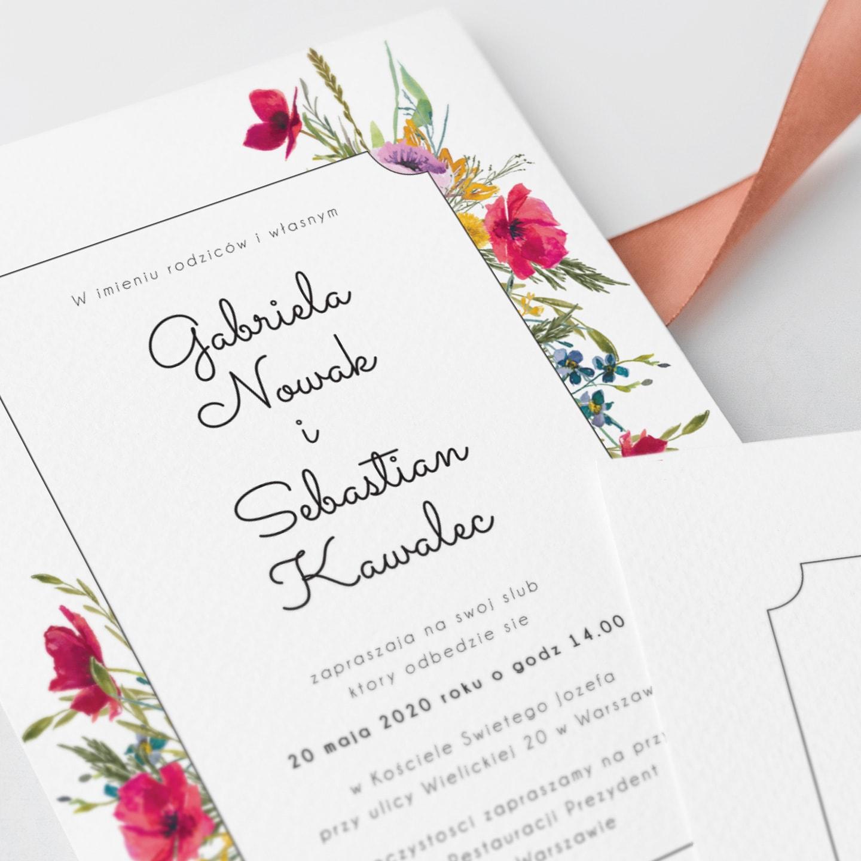 eleganckie zaproszenia w stylu rustykalnym