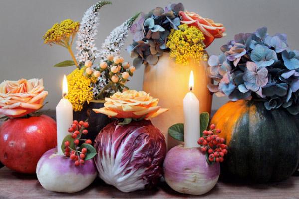 Pomysła na wazony z warzyw