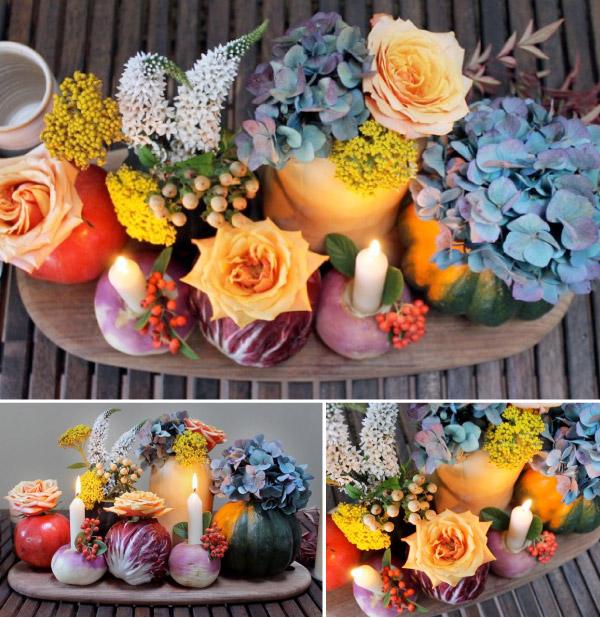 Kreatywne wazony na stoły