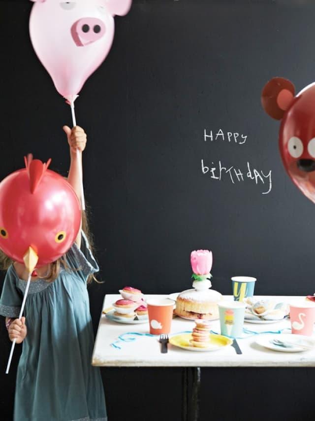 Balony w zwierzątka na przyjęcie urodzinowe