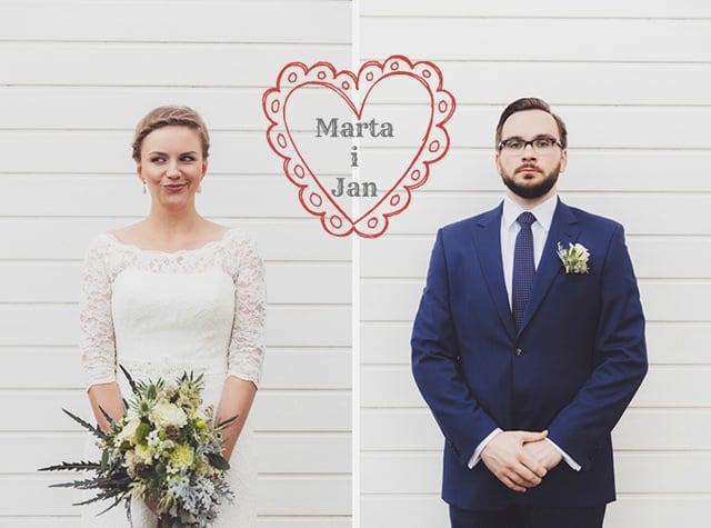 Sesja slubna Marty i Janka