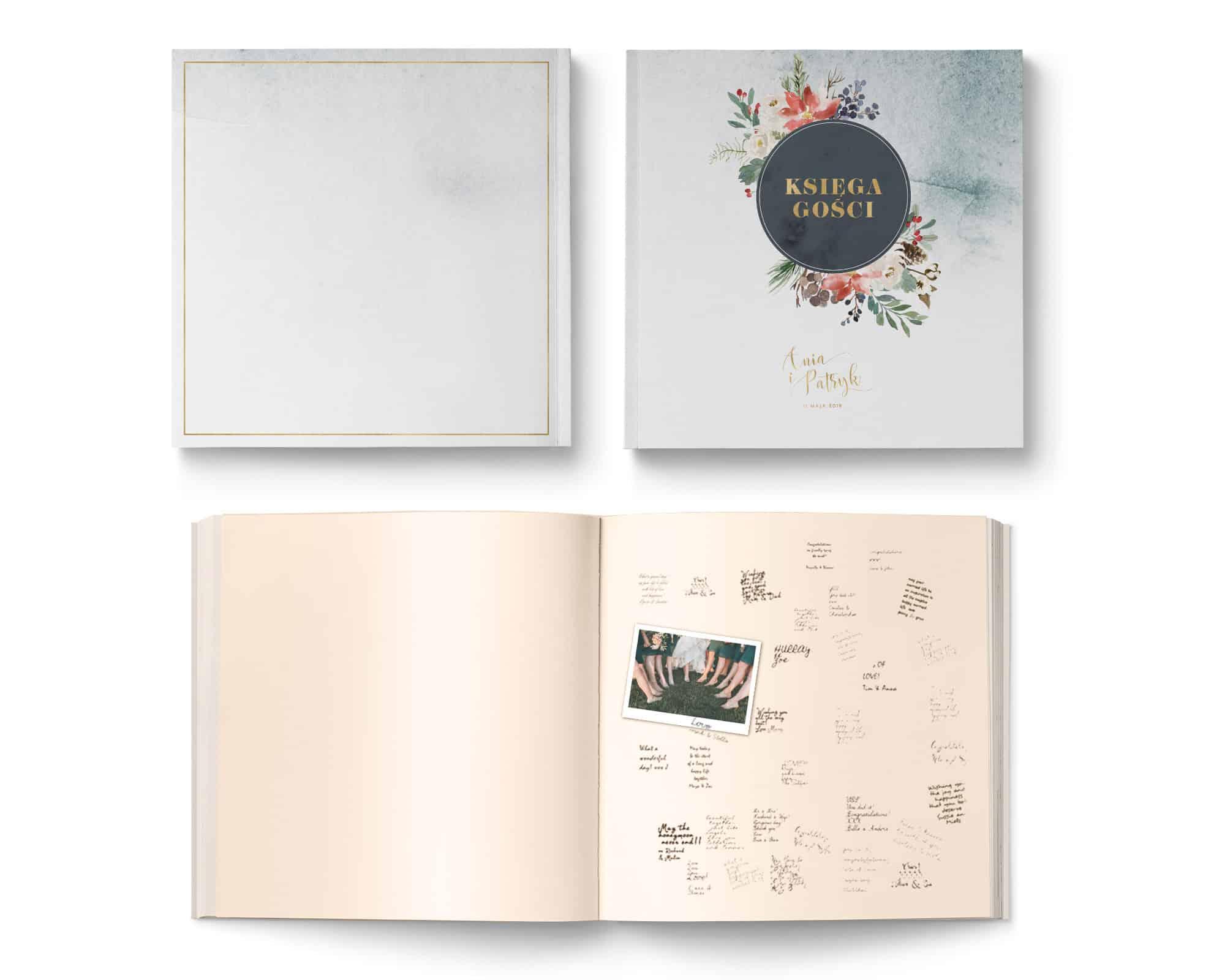 Księga gości weselnych Winter