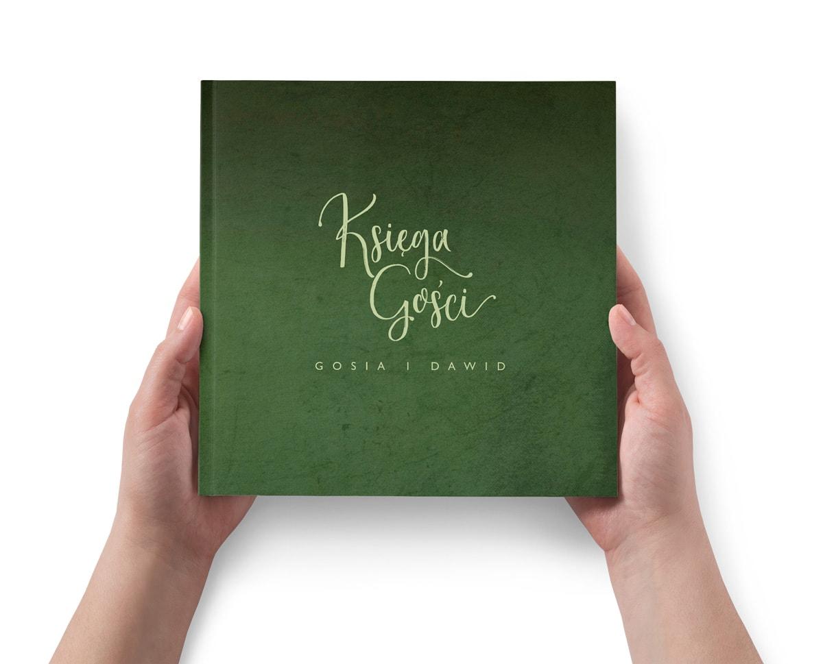 Zielona księga gości Greenery