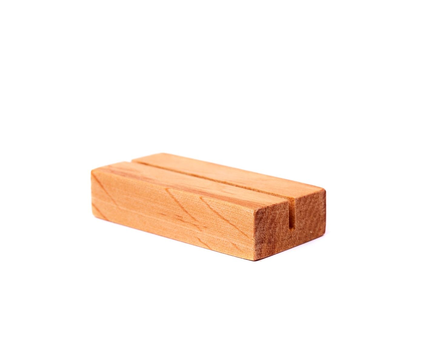 Drewniane podstawki w naturalnym kolorze, olejowane