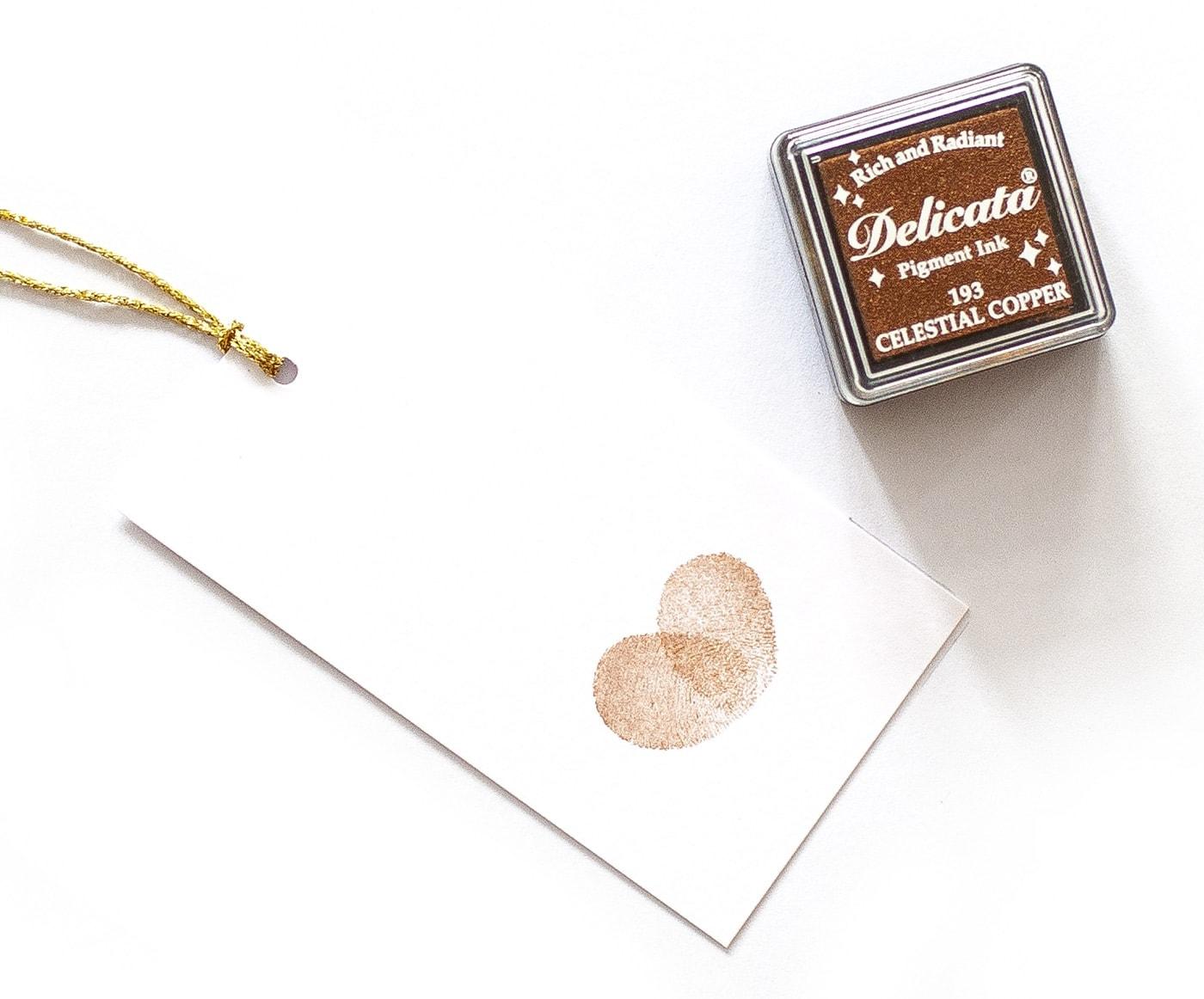 Miedziany tusz delicata celestial copper