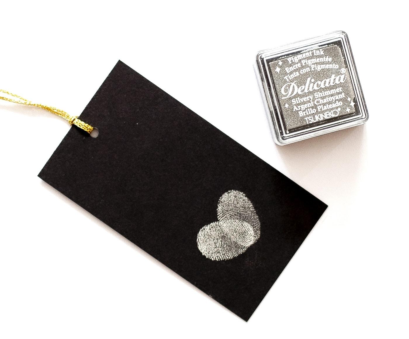 Srebrny tusz delicata Silvery Shimmer