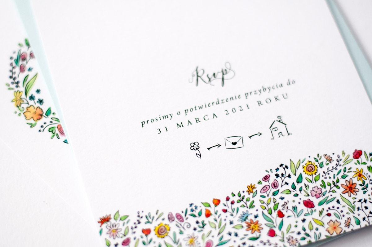 Ikonki i piktogramy na zaproszeniach