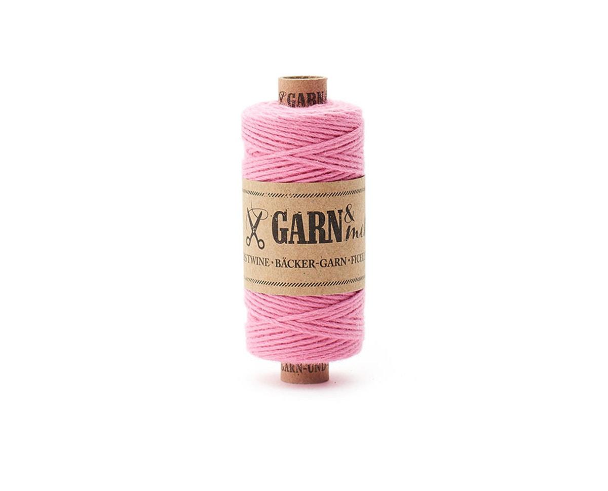 bawełniany sznurek jasno różowy