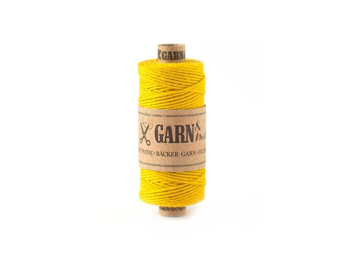 bawełniany sznurek musztardowy